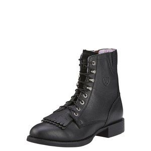 Women Ariat Heritage Lacer II Boot Black size 9.5